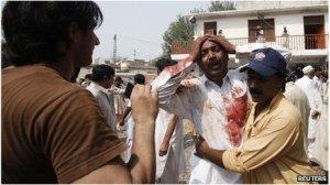 Scene of Incident- Church of Pakistan